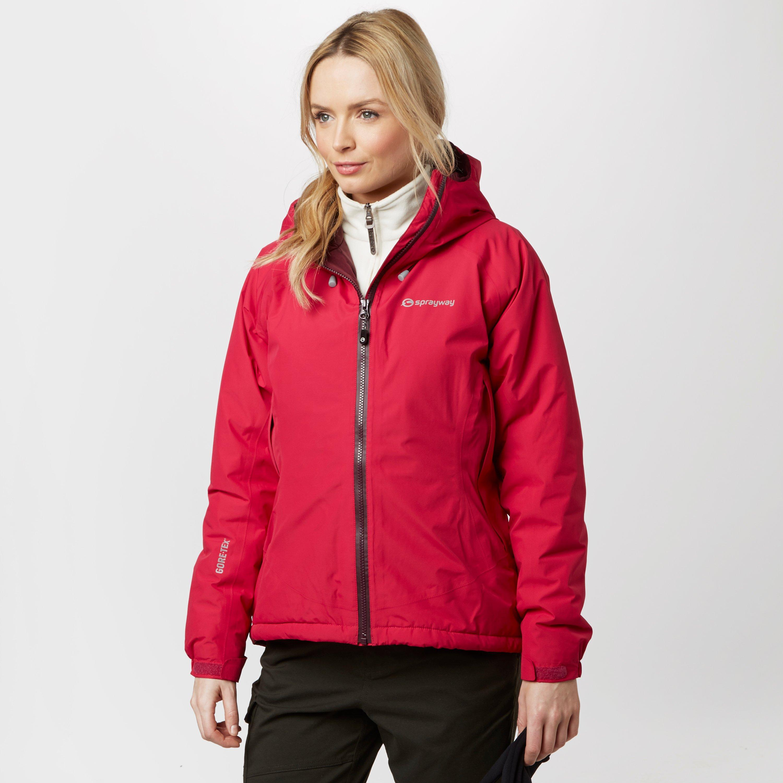 Sprayway Womens Zen GORETEX Jacket Pink