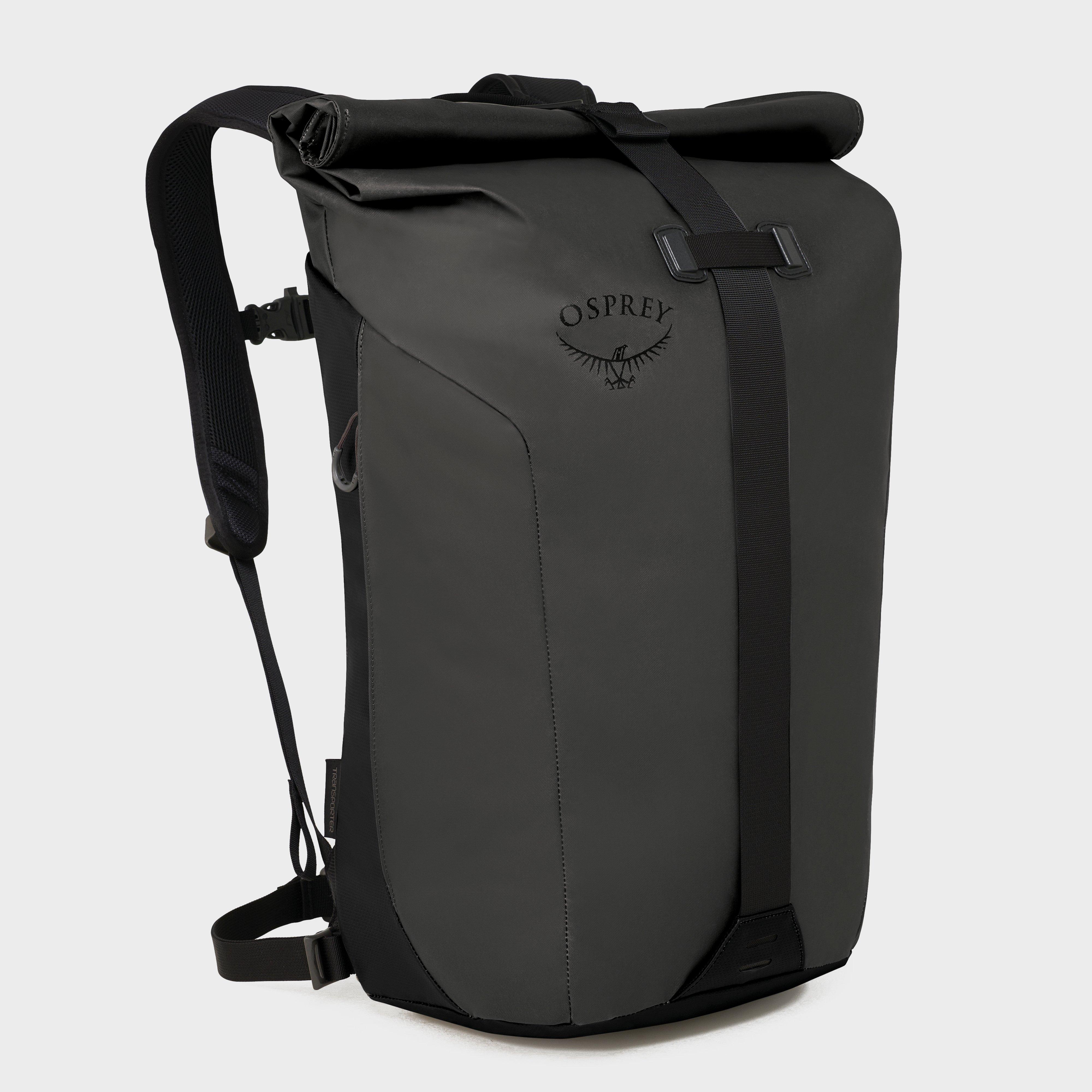 Osprey Transporter Roll Backpack - Black, Black