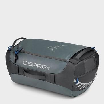 Dark Grey Osprey Transporter 40 Holdall Bag