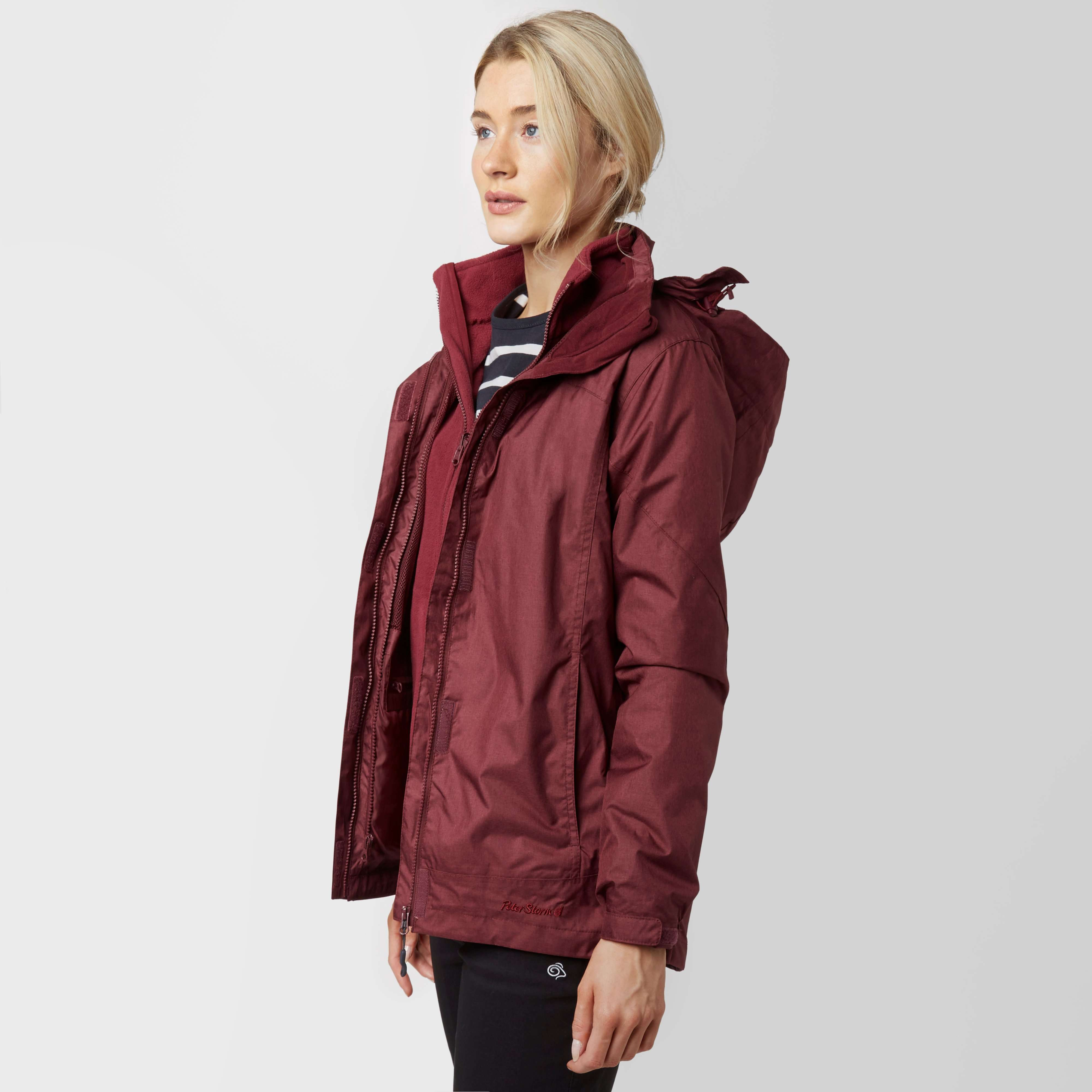 PETER STORM Women's Gina 3 in 1 Waterproof Jacket