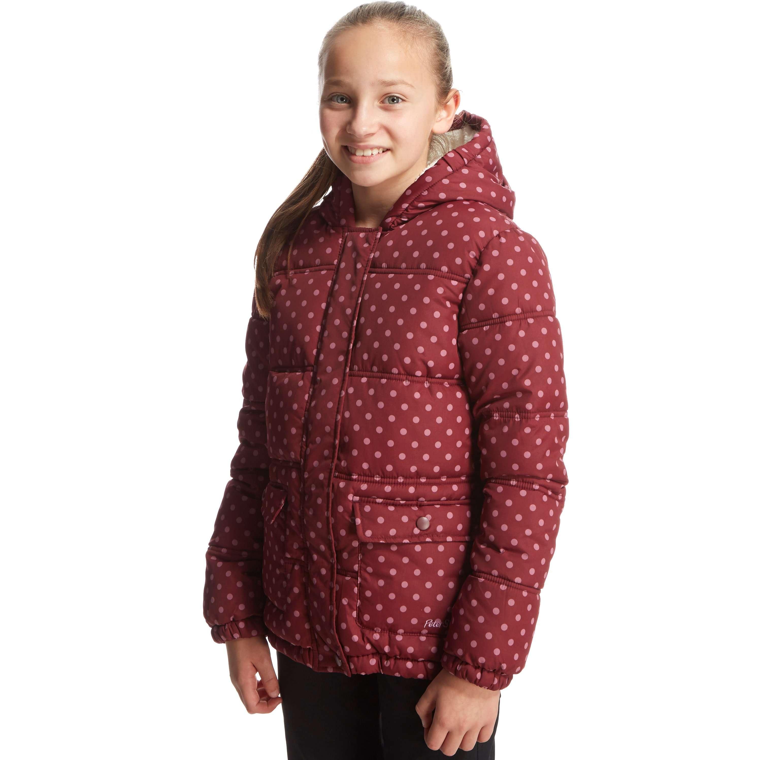 PETER STORM Girl's Ellen Baffled Jacket