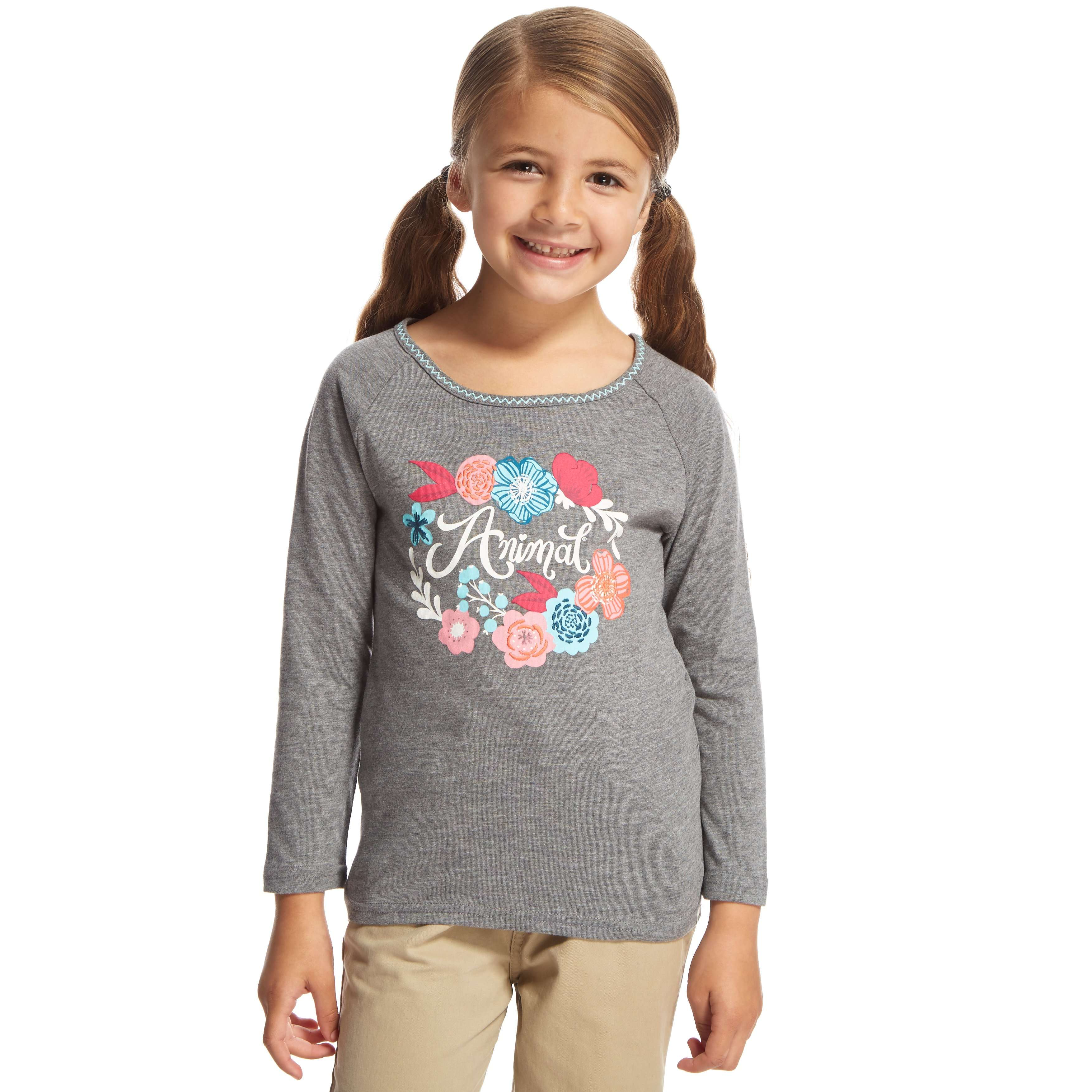ANIMAL Girls Rosie Posie Long Sleeve T-Shirt