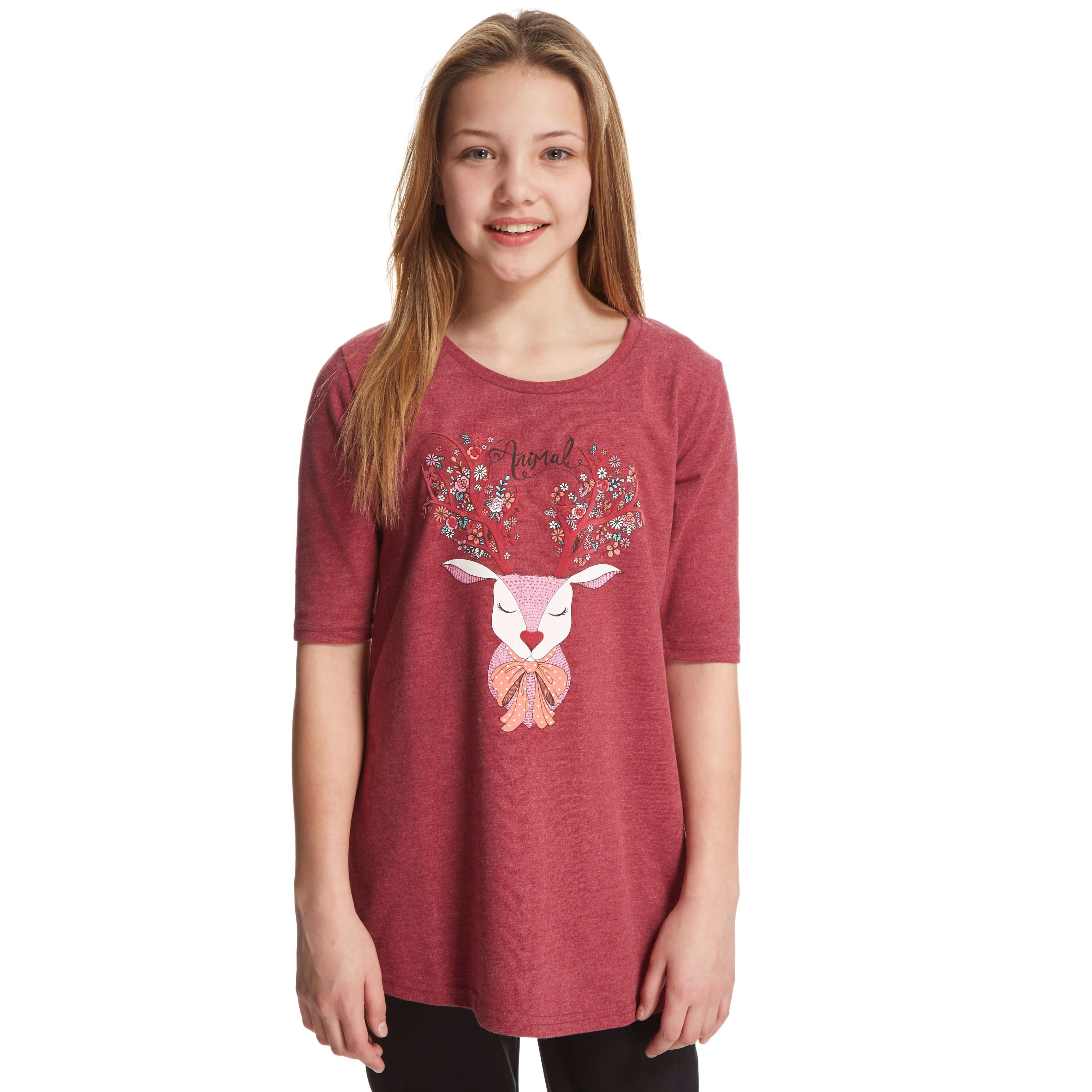ANIMAL Girls' Dotty Doe T-Shirt