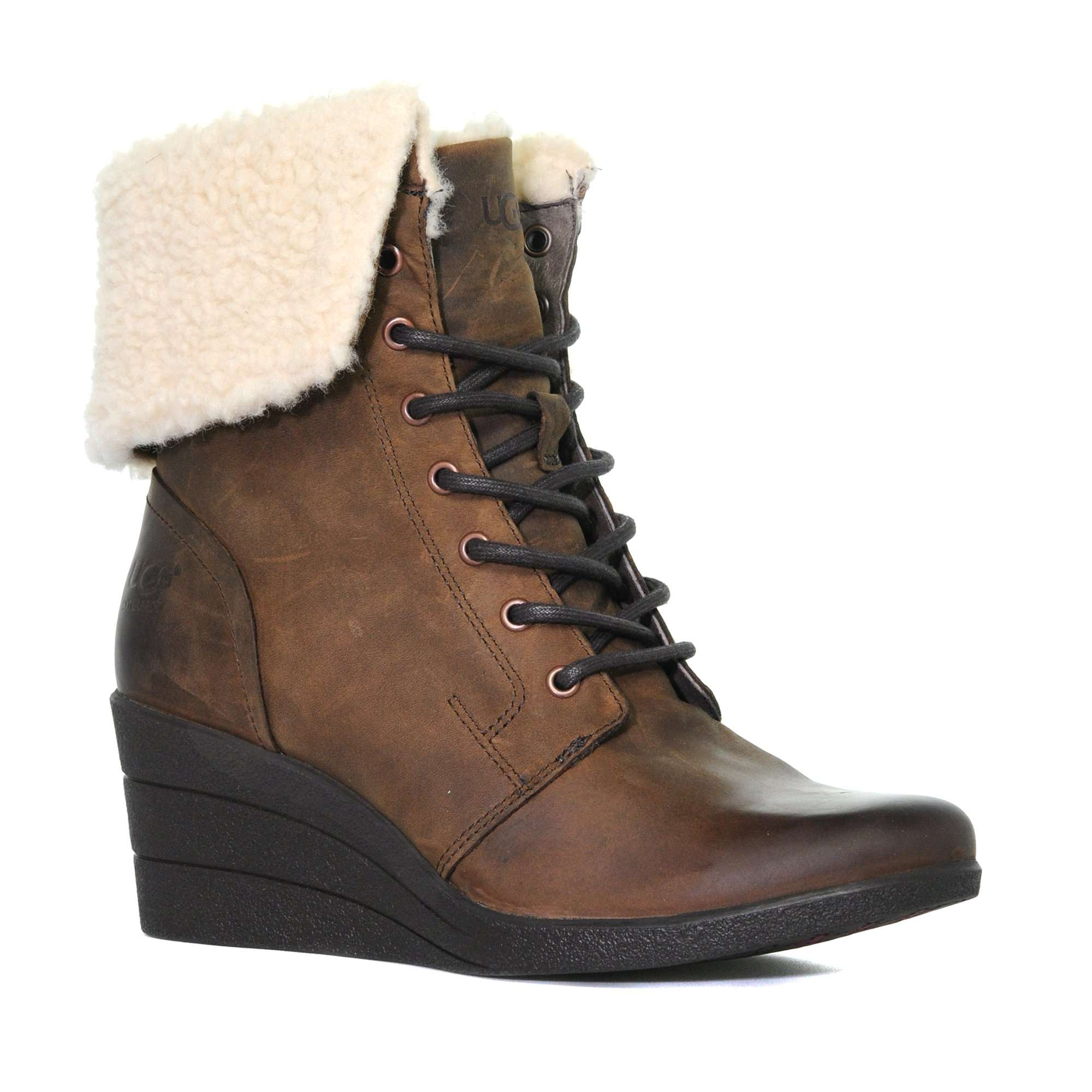UGG Women's Zea Leather Ankle Boot