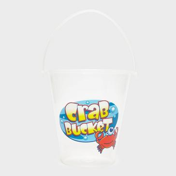 WHITE Wilton Bradley Yello 23CM Large Crabbing Bucket