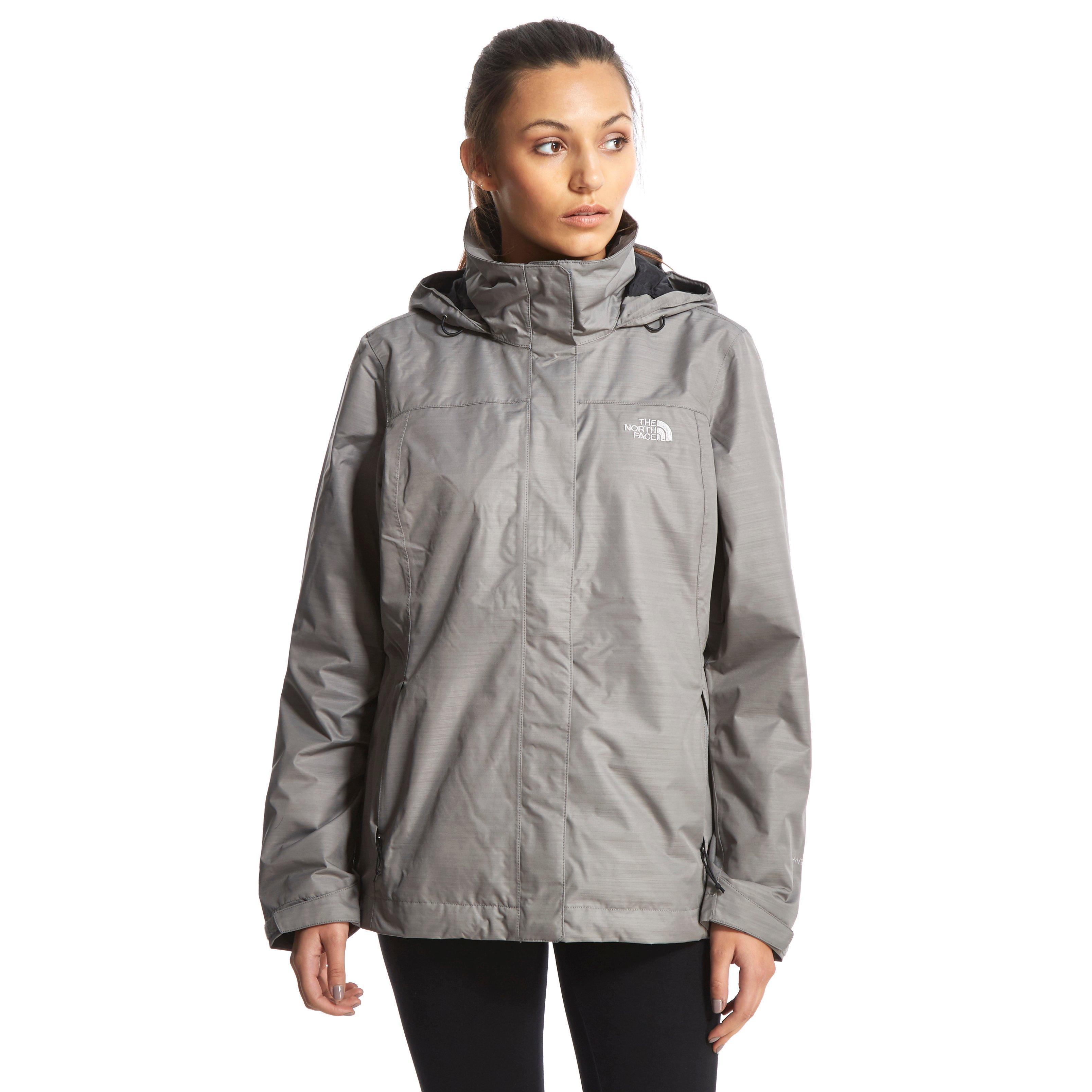 North face waterproof jacket women