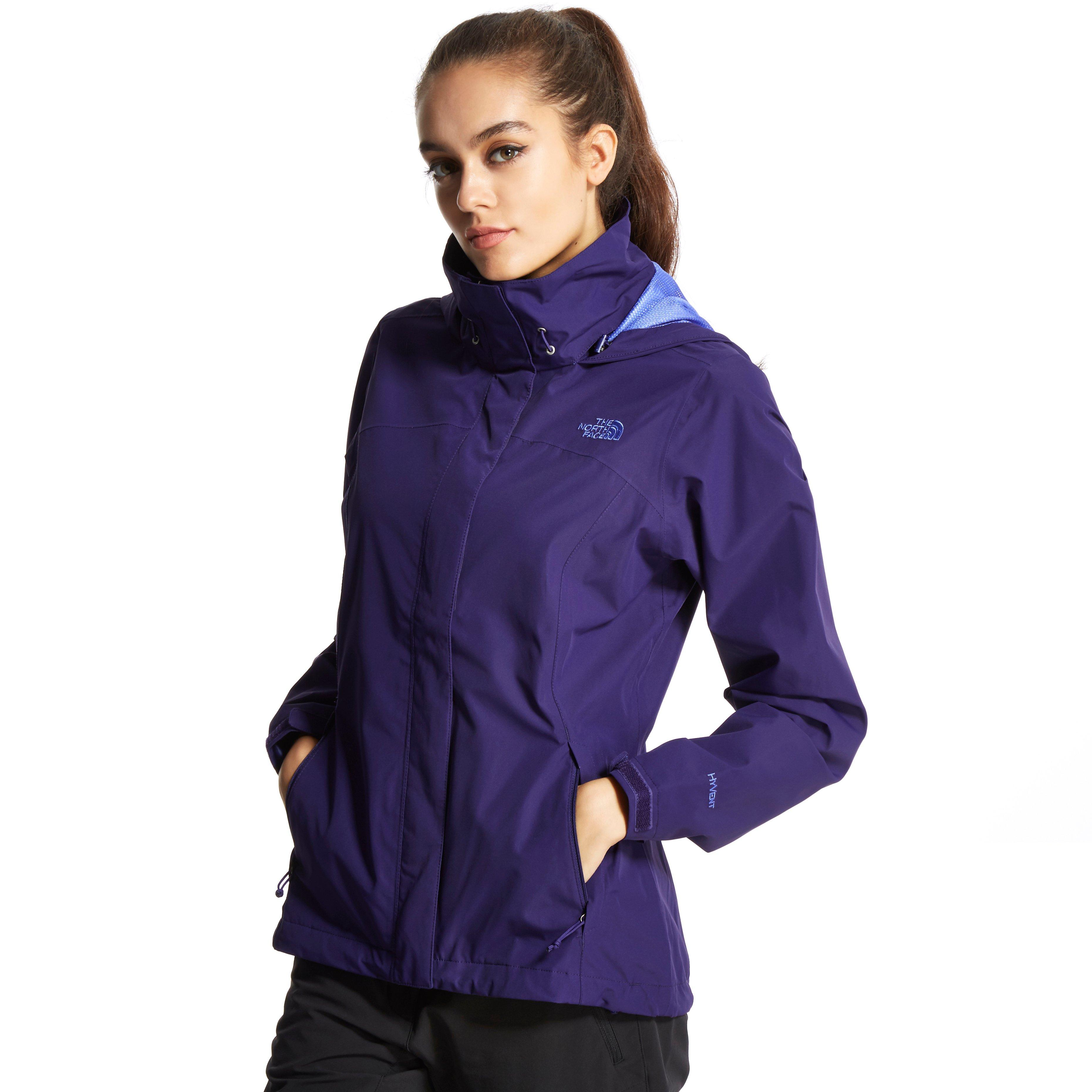 the north face womens sangro hyvent jacket blue. Black Bedroom Furniture Sets. Home Design Ideas