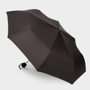 Black Fulton Minilite 1 Umbrella