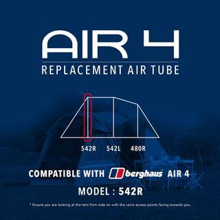 Air 4 Tent Replacement Air Tube - 542R