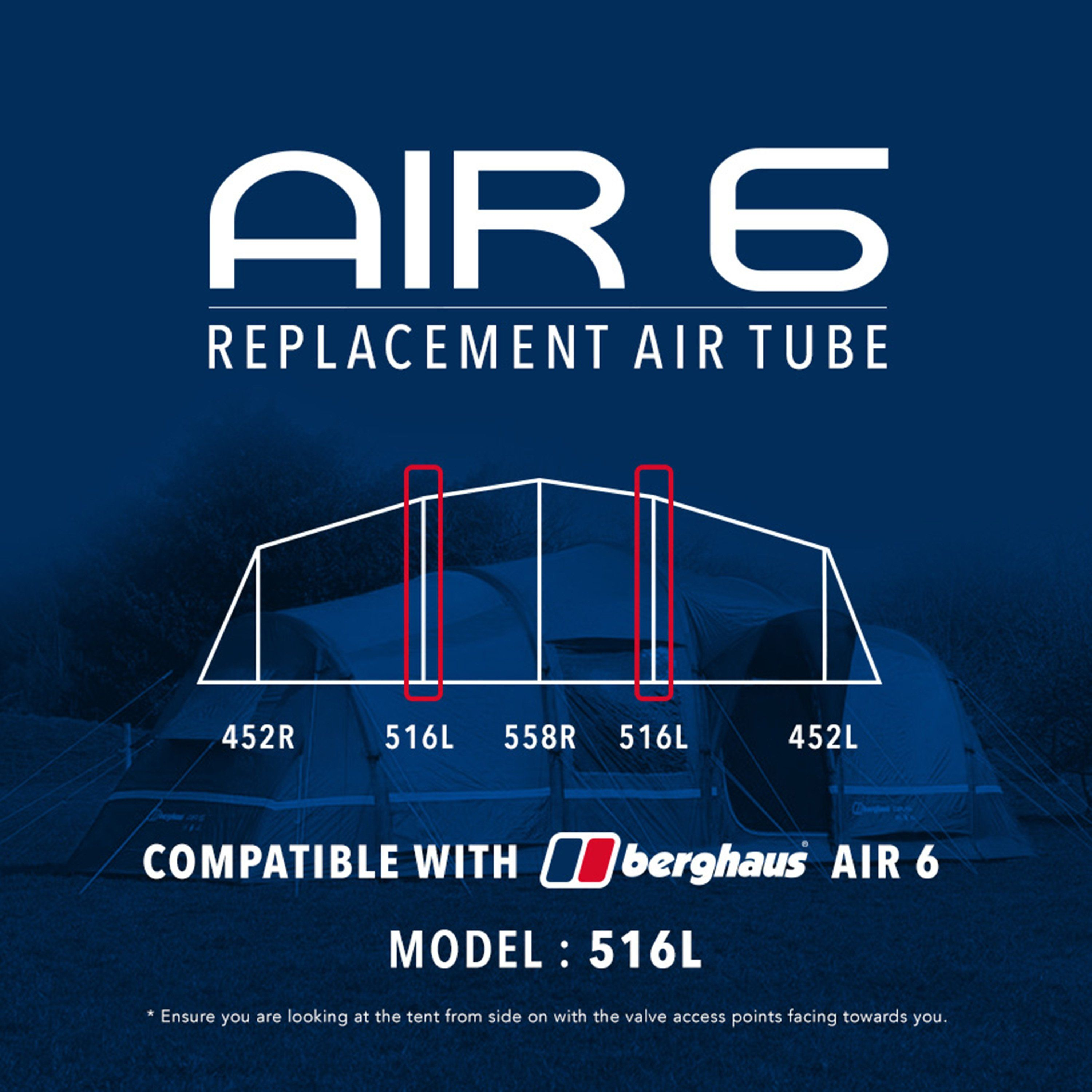 EUROHIKE Air 6 Tent Replacement Air Tube - 516L