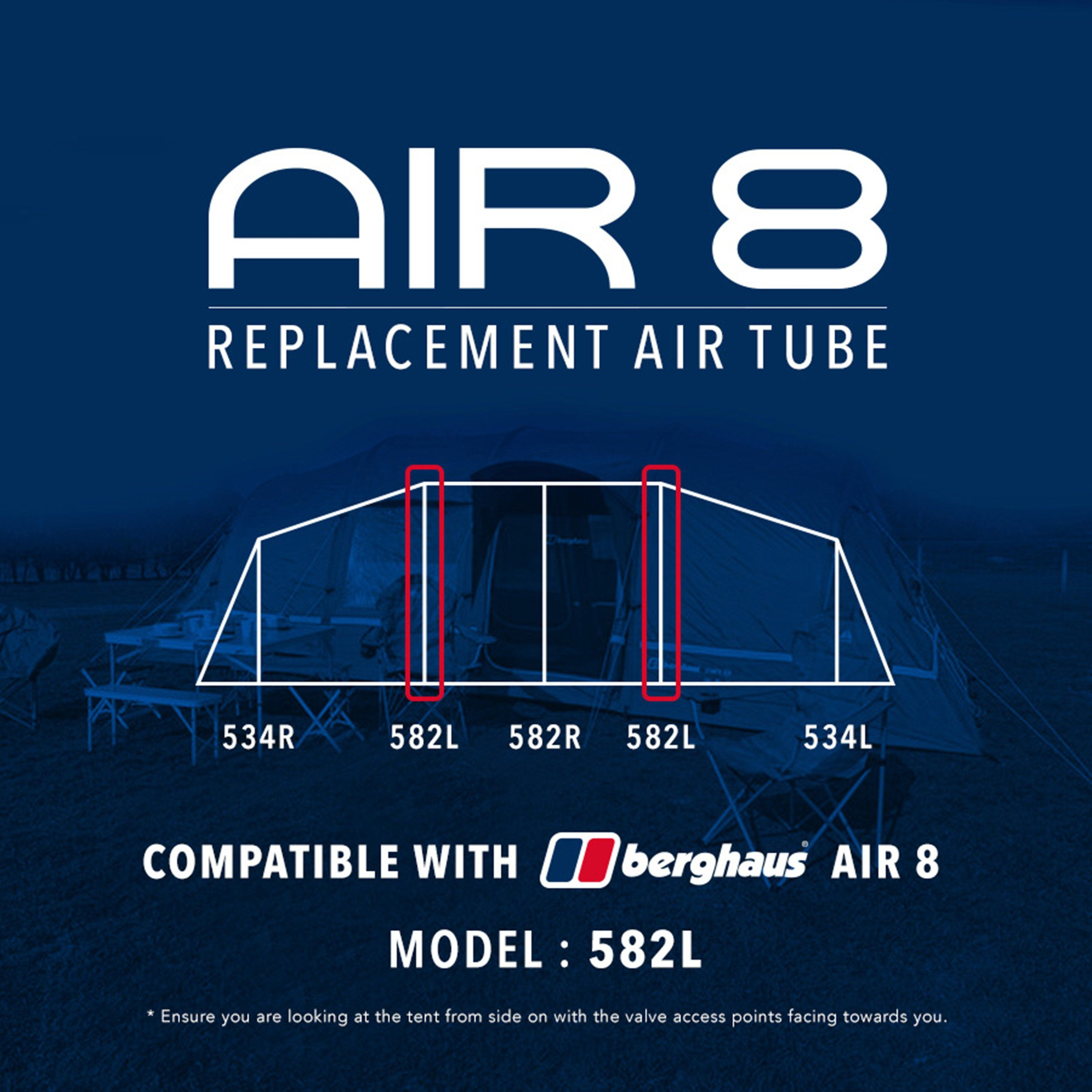 EUROHIKE Air 8 Tent Replacement Air Tube - 582L