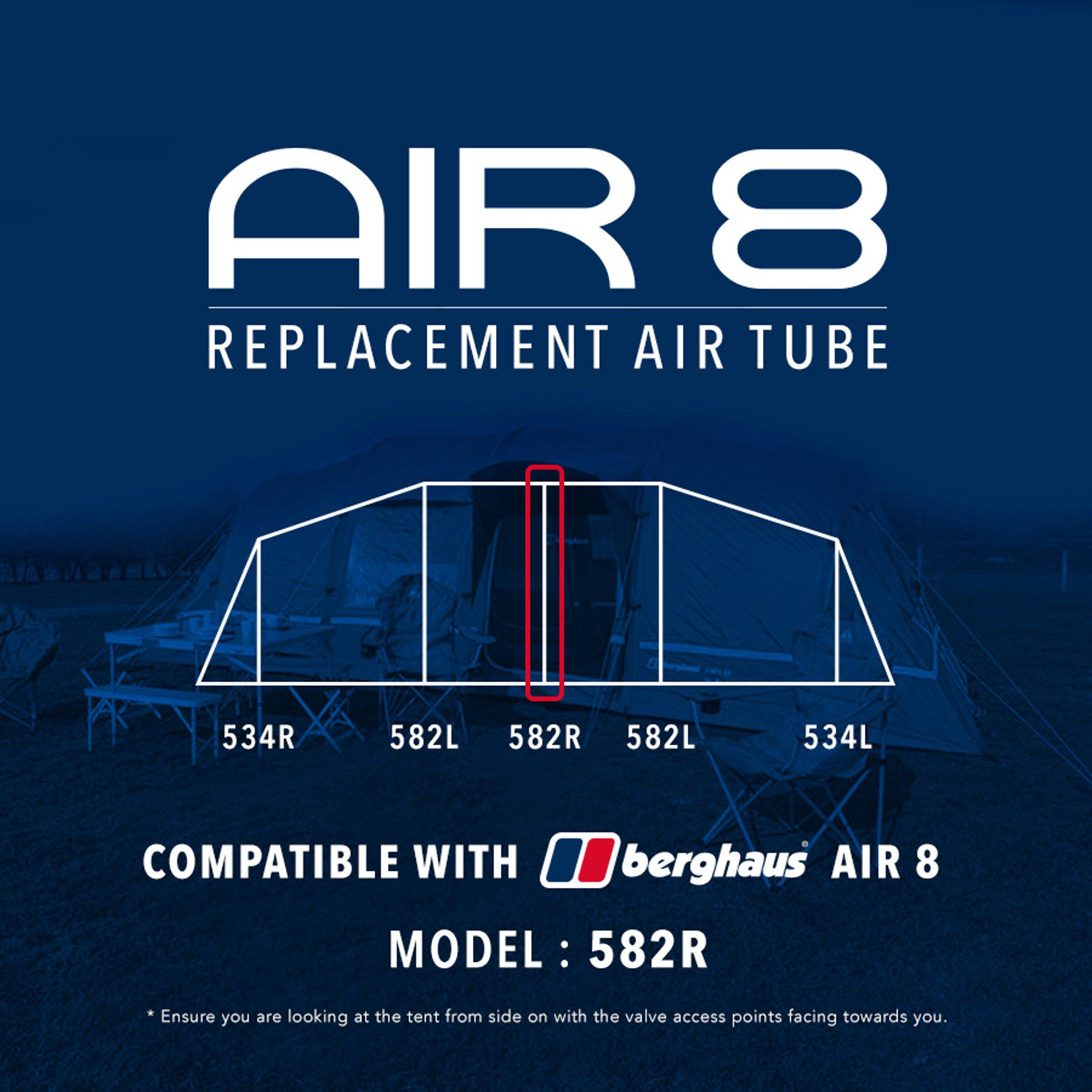 Berghaus Air 8 tent – replacement air tubes