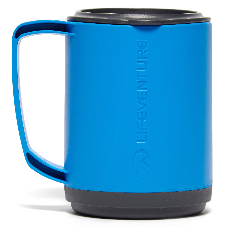Lifeventure Lifeventure Ellipse Insulated Mug - Blue, Blue