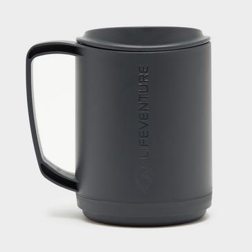 Grey|Grey LIFEVENTURE Ellipse Insulated Mug