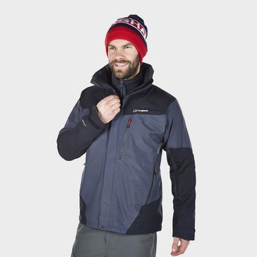 Grey|Grey Berghaus Men's Arran Waterproof Jacket