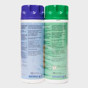 Multi Nikwax Tech Wash and TX Direct Twin Pack - 300ml