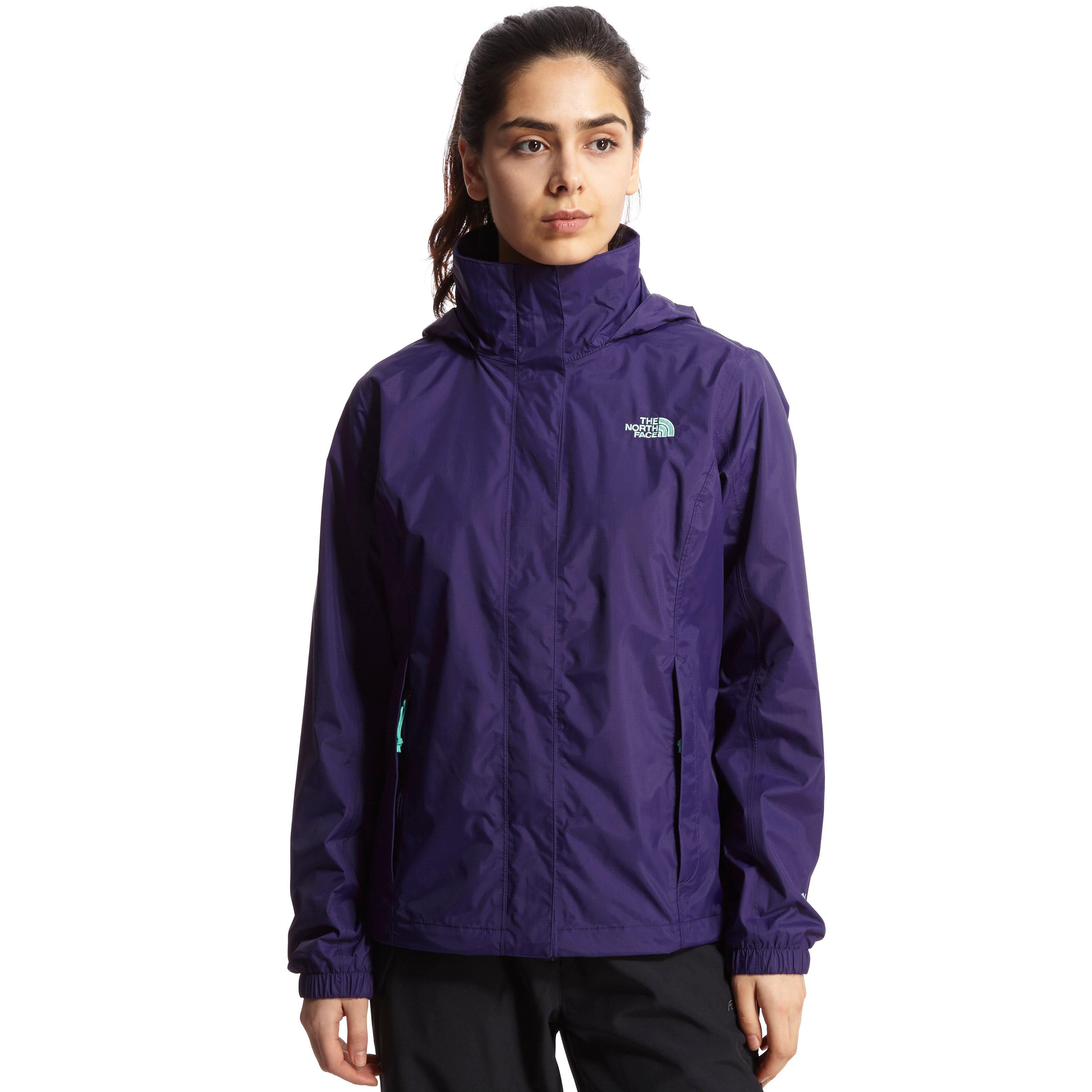 Womens purple north face jacket