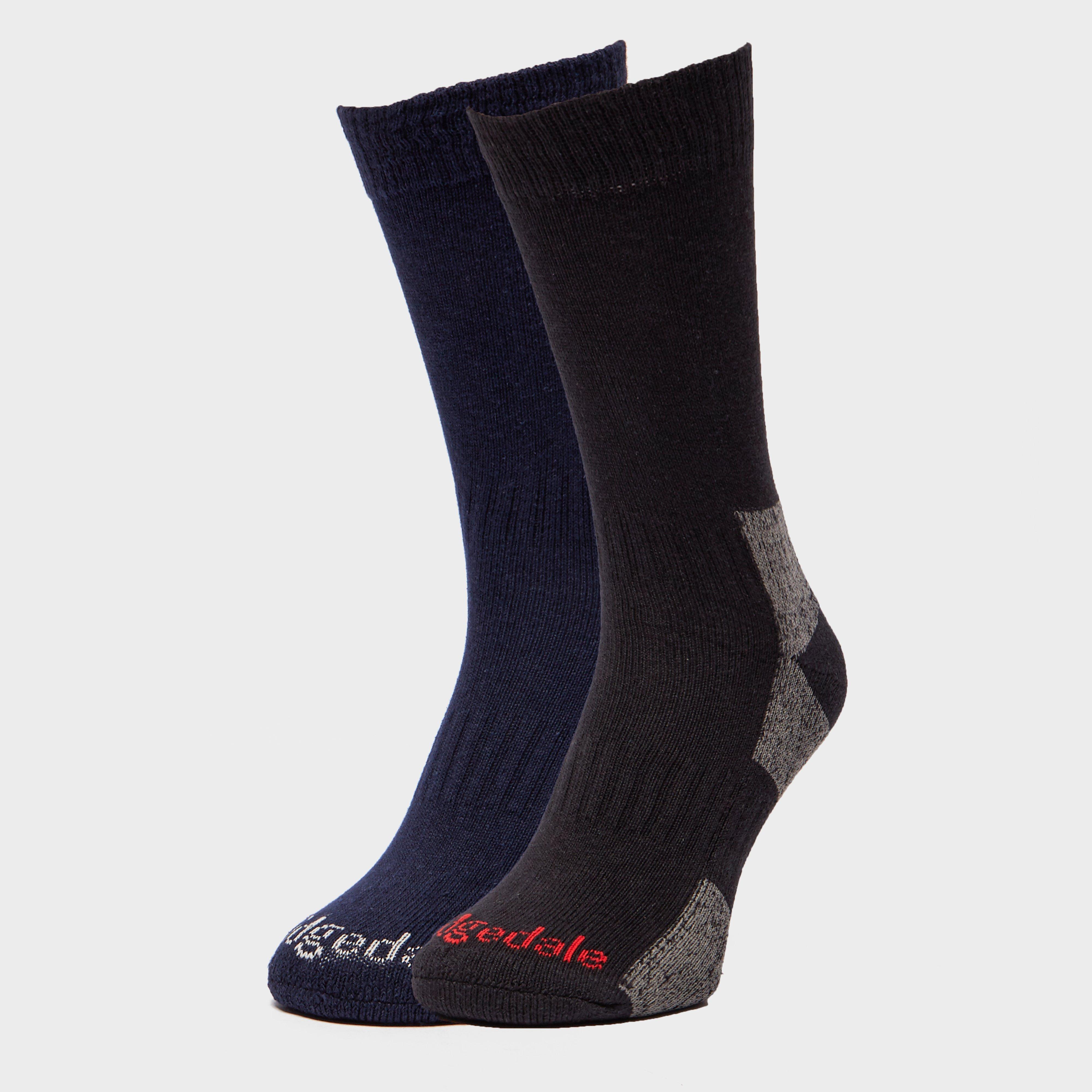 Bridgedale Bridgedale Mens Dingle Socks - Black, Black