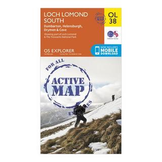 Explorer Active OL38 Loch Lomond South Map