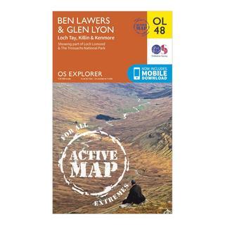 Explorer Active OL48 Ben Lawers & Glen Lyon Map With Digital Version