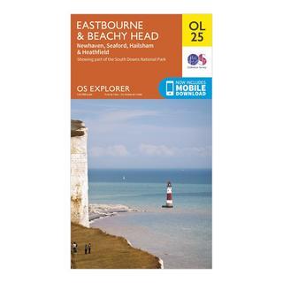 Explorer OL 25 Eastbourne & Beachy Head Map