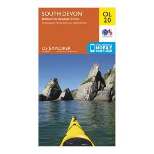 ORDNANCE SURVEY Explorer OL 20 South Devon Map
