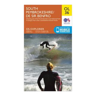 Explorer OL 36 South Pembrokeshire Map
