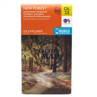 Explorer Active OL 22 New Forest Map