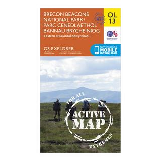 Explorer OL 13 Active D Breacon Beacons National Park (Eastern Area) Map