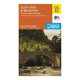 Explorer OL 52 Glen Shee & Braemar Map