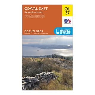 Explorer OL 37 Cowal East Dunoon & Inveraray Map