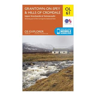 Explorer OL 61 Grantown-on-Spey & Hills of Cromdale Map