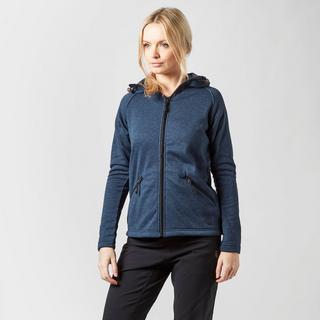 Women's Marble Full Zip Fleece