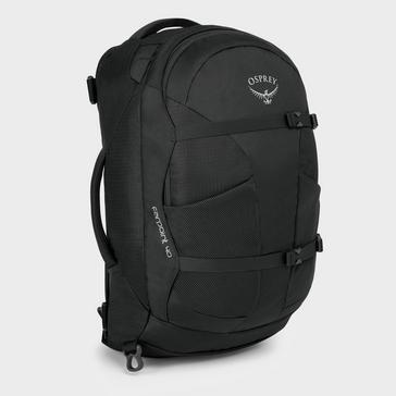 Grey Grey Osprey Farpoint 40 Litre Travel Backpack (M/L)