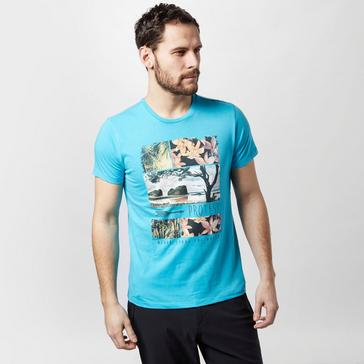 Turquoise Protest Men's Grant T-Shirt