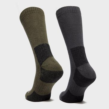Khaki Bridgedale Men's Dingle Sock Multipack