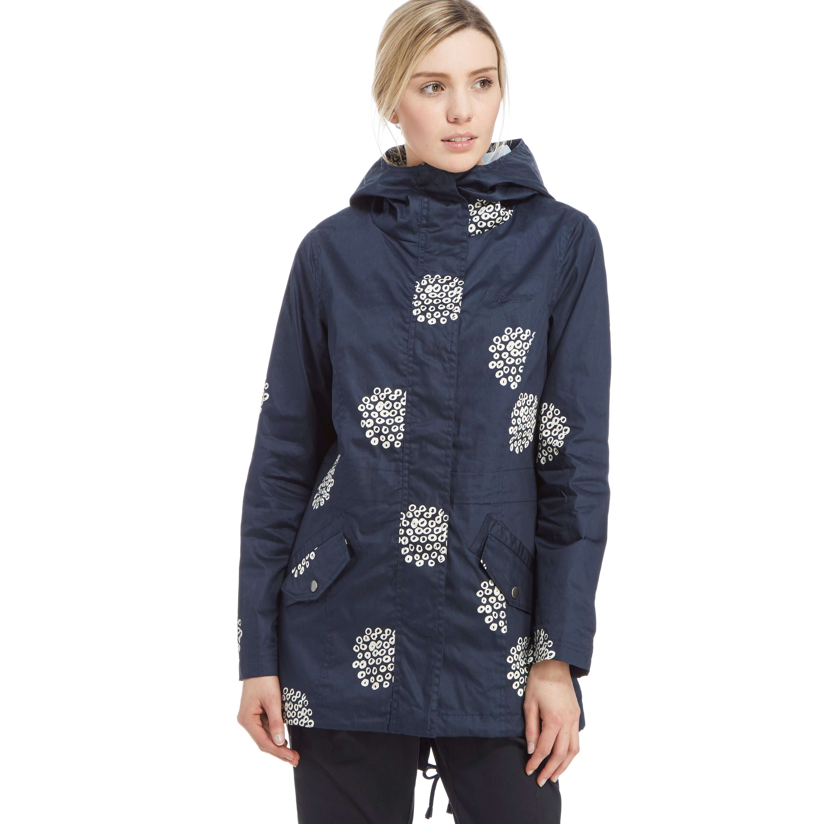 BRAKEBURN Women's Printed Parka Jacket