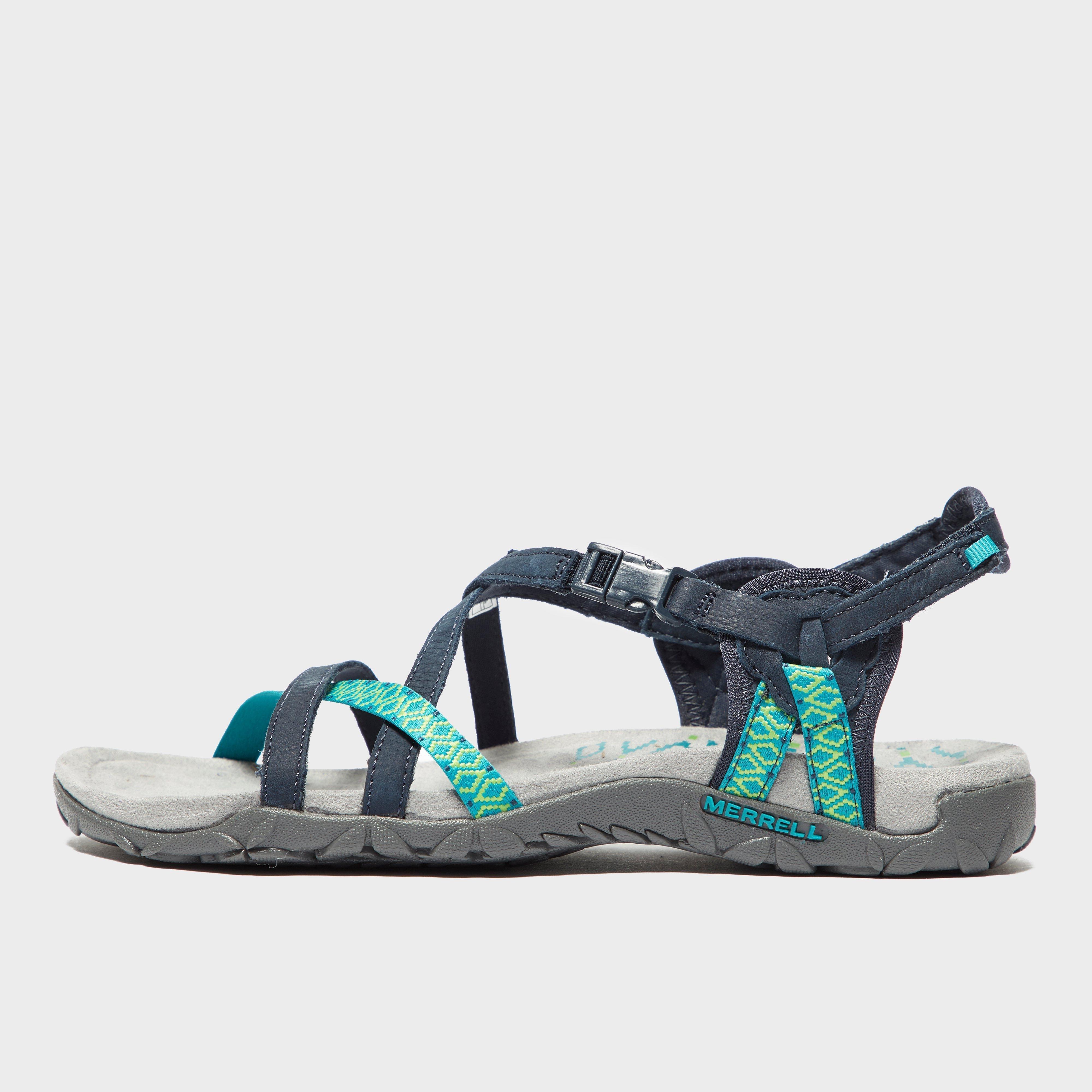 495ad9739bb Blue MERRELL Women s Terran Lattice Sandals image 1