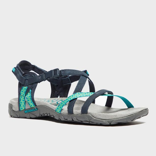 5df56585a34b Blue MERRELL Women s Terran Lattice Sandals image 3