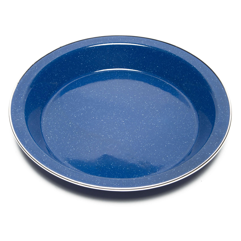 STRIDER Blue Enamel Plate 25cm