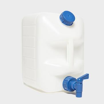 White VANGO 10 Litre Jerry Can