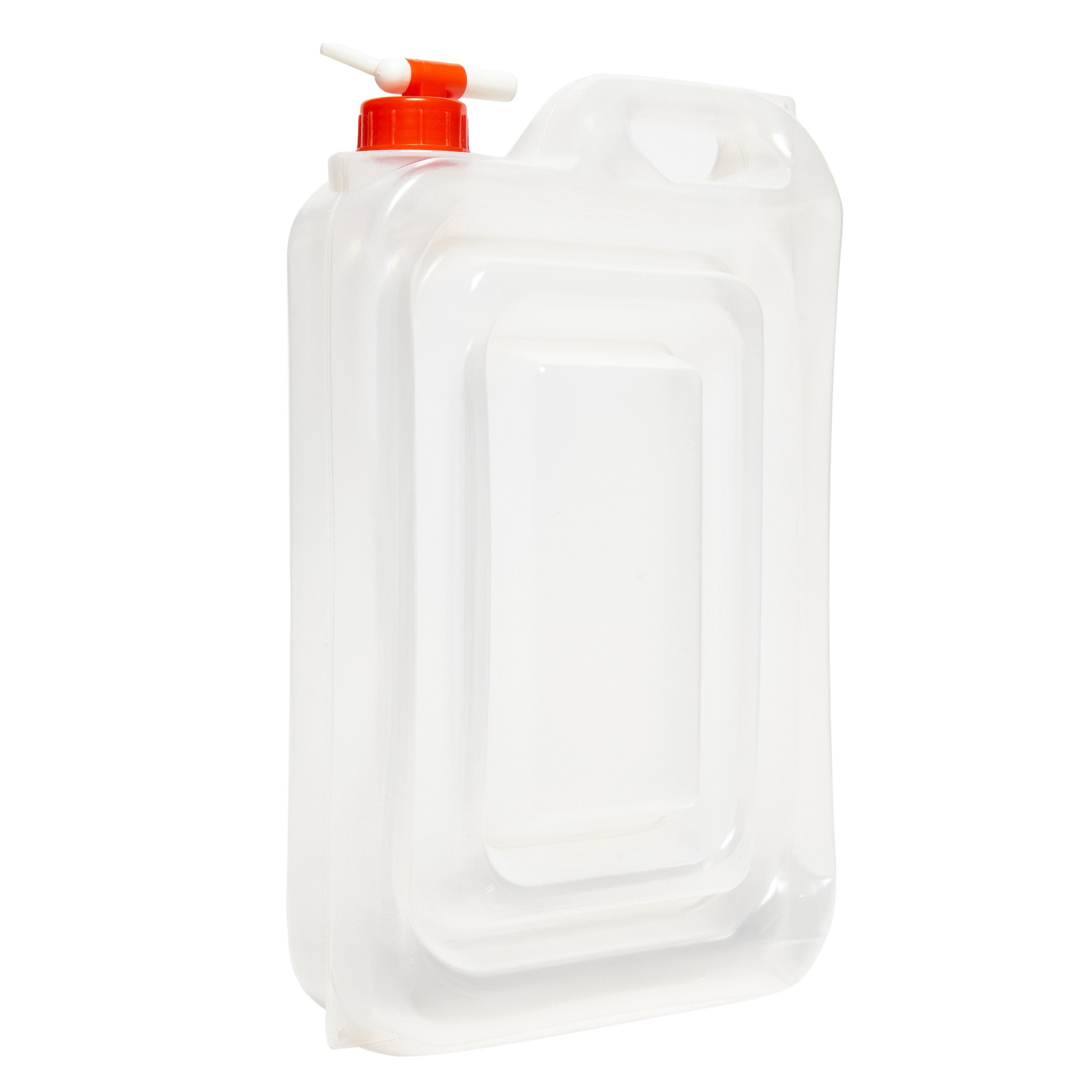 Vango Vango Expandable 12L Water Carrier - Clear, Clear