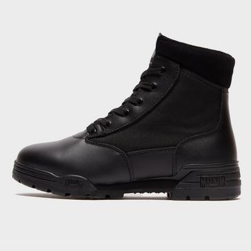 Black Magnum Men's Classic 6 Lace Work Boots