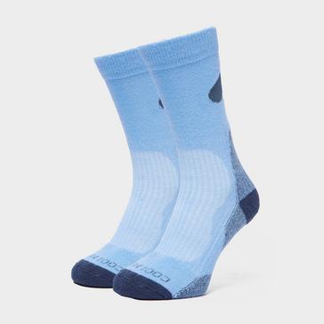 Light Blue Peter Storm Men's Lightweight Outdoor Sock - Twin Pack
