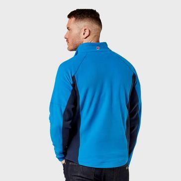 Blue Berghaus Men's Hartsop Half Zip Fleece