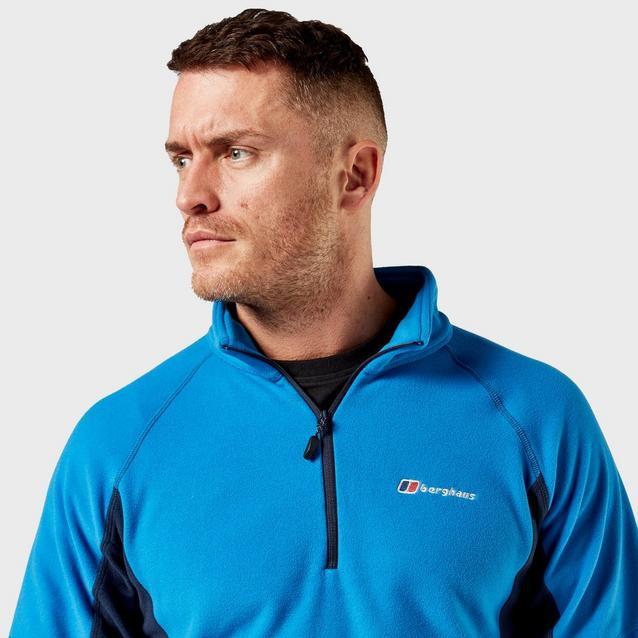 Medium Berghaus Hartsop Half Zip Fleece Sweatshirt Top Mens Size