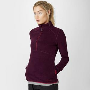 PETER STORM Women's Striped Half Zip Fleece
