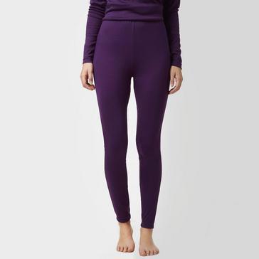 Purple Peter Storm Women's Thermal Baselayer Pants