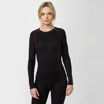 Black Alpine Women's Thermal Underwear Set