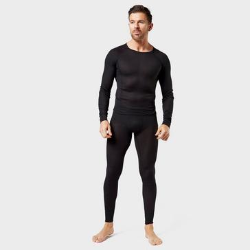 Black Alpine Men's Thermal Underwear Set